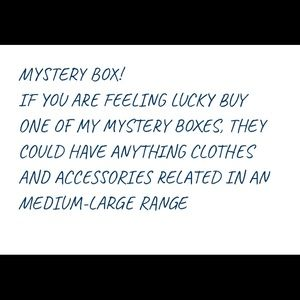 Mystery box of clothes